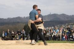 Roger Rychen gewinnt im Schlussgang gegen Roman Schnurrenberger