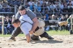 Samir Leuppi gewinnt gegen Urs Giger (Foto: W. Schaerer)