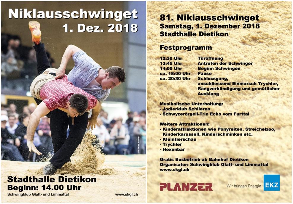 Flyer Niklausschwinget